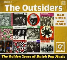The Outsiders - Golden Years of Dutch Pop Music, A & B Sides & More, 2CD Neu