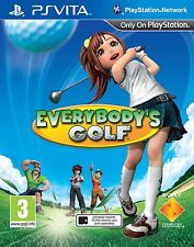 EVERYBODY'S GOLF (PS VITA) NUOVO & Sigillato in Fabbrica