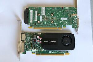 HP NVIDIA Quadro K600 1GB DDR3 SDRAM PCI Express x16 Graphics adapter PNY NVIDIA