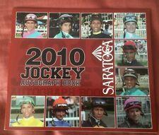 2010 Saratoga Jockey Autograph Book