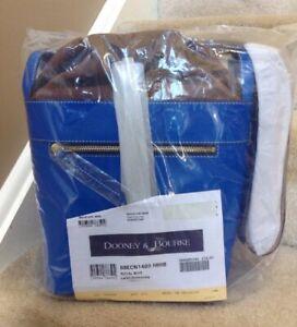 Dooney & Bourke Beacon Large Drawstring Bag in ROYAL BLUE (Factory Sealed)
