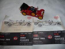 DAIMLER 1910 Corgi Classics ref 9021 38 fabriqué en Grande Bretagne