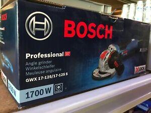 Bosch Professional GWX 125 S 1700W Winkelschleifer