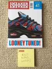 sneaker freaker  magazine issue 41  nike TN max plus Looney Tuned