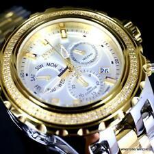 Invicta Reserve Subaqua Specialty Swiss Polished 2 Tone Steel Diamond Watch New