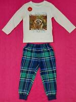 Children's Too Excited to Sleep Kids Pyjamas Set Long Sleeve P.J EX Store +Sizes