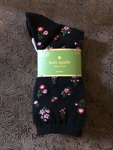 Kate Spade New York Women's 3-Pairs Crew Socks Shoe Size 4-10