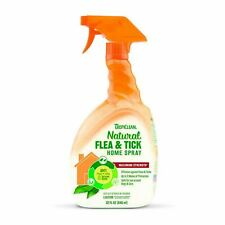 Tropiclean Kills Flea Tick Pest Natural Spray for Home 946ml Safe for Cats Dogs