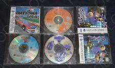 Lot of 6 Sega Saturn Games Shinobi Street Fighter Alpha 2