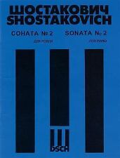 DMITRI SHOSTAKOVICH - SONATA NO. 2 FOR PIANO, OP. 61 NEW PAPERBACK BOOK