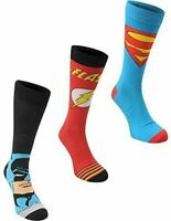 Marvel Licensed Men's Socks Pack of 3 DC Comics - SIZE 7-11 UK / 40-47 EU