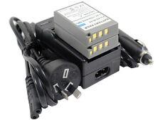 2x Battery +Charger BLS-1 BLS-5 BLS-50 E-620 E-P1 E-P2 M10 E-PL7 EPL7 E-PL8 EPL8