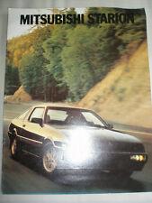 Mitsubishi Starion range brochure 1983 USA market large format
