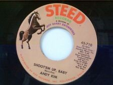 """ANDY KIM """"SHOOT'EM UP BABY / ORDINARY KIND OF GIRL"""" 45"""