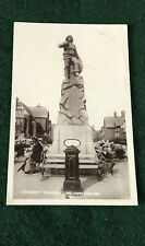 Lifeboat Memorial St Anne's On Sea RP Postcard Lancashire Posted 1910
