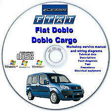 fiat doblo elearn - manuale officina workshop manual service wiring diagrams