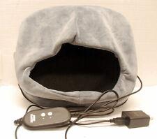 Sharper Image grey heat Foot pillow vibrating massage