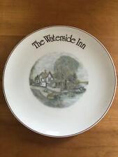 The Waterside Inn Uk Restaurant Dinner Plate Wedgwood Bone China England