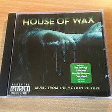 """""""HOUSE OF WAX""""- OST 2005-PRODIGY-DEFTONES-MANSON-MY CHEMICAL-IGGY-BRAND NEW CD"""