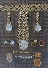 PUBLICITE MAUBOUSSIN JOAILLIER BIJOUX BAGUES BRACELET MONTRE DE 1971 FRENCH AD