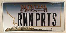 Vanity RUNNING PARTS license plate MOPAR Muscle Car salvage Dodge Chysler garage