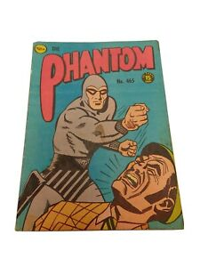 Australian Frew Phantom Comic No. 465 Good cond Published 1972 Bagged & Boarded