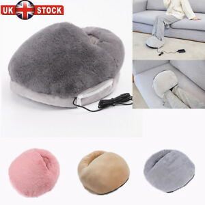USB Electric Foot Warmer Feet Heating Detachable Boot Heaters Shoes Heating Pads