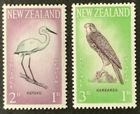 New Zealand. Health Stamps, Birds Stamp Set. SG806/07. 1961. MNH.  #AH299