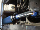 BCP BLUE GMC/Chevy V8 4.8L/5.3L/6.0L Heat Shield Cold Air Intake System + Filter