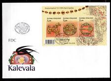 Finland - 1999 Antique juwelry - Mi. Bl. 21 FDC