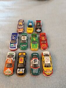 Vintage NASCAR Champions Racers Toy Cars Collectibles Lot Of 11