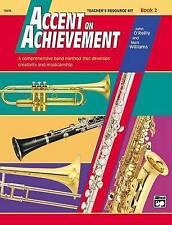 NEW Accent on Achievement, Bk 2: Teacher's Resource Kit by John O'Reilly