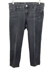 Kut from the Kloth Jeans Womens 14 Sienna Skinny Leg Gray Wash Actual Size 34x26