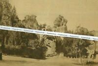 Paderborn : Die Externsteine - Teutoburger Wald um 1925        R 28-29