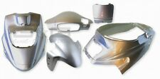 Kit carénage capot en argent metallique pour PGO HOT 50 12 pouces