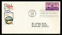 US Rare Cachet First Day Stamp Cover #896 FDC