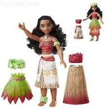 Disney Moana Island Fashions 10 inches Doll 9 Fashion Pieces Included Girl's Toy