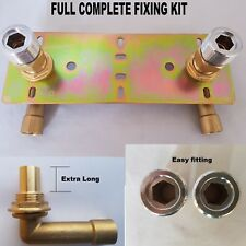 Shower Valve Fixing Plate Ebay