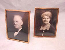 Black & white photos of Elderly man & woman couple