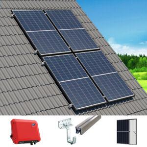 Komplette Solaranlage mit 1,5 kWp Eigenverbrauch | 4 Platten & Schrägdachmontage