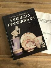 The Collectors Encyclopedia of American Dinnerware Reference Book Jo Cunningham