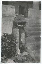 BM384 Carte Photo vintage card RPPC Indochine sculpture temple