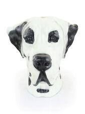 Deutsche Dogge (ungeschnitten, bemalt), großer Kopf Resin, Art Dog, CH