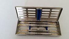 Composite Filling Instruments Double Ended Dental Restorative Carver Gold CE