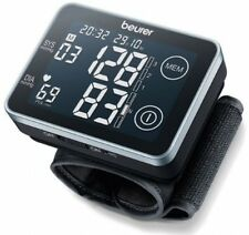 Wrist Blood Pressure Monitor Heart Beat Rate Pulse Digital Automatic Cuff Lcd