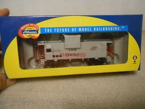 Athearn C&NW Chicago & North Western Wide Vision Caboose in Box HO #109
