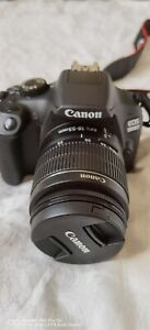 Canon EOS 1300d 18MP DSLR Camera Kit with 18-55mm Lens - Black