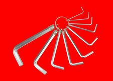 10 tlg. Innensechskant 6-Kant Steckschlüssel Schraubenschlüssel 1.5 - 10mm Y504