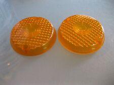 Kawasaki Replacement VEM Amber Lens V.E.M. DK-2 SAE I 7 ONE PAIR