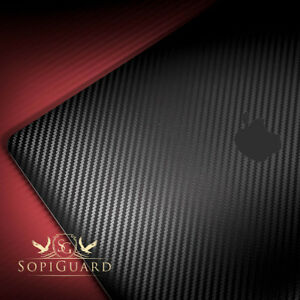 SopiGuard Carbon Sticker Skin for 2020 Apple Macbook Air 13 Retina M1 (A2337)